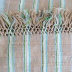 Hand woven by Rosa Soliz, dyed with local wood and herbs.